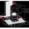 Whirlpool Páraelszívó Beépíthető WHFG 64 F LM X Inox Wall-mounted Nyomógombos kezelés Frontal