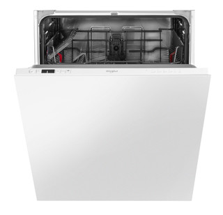 Integreret Whirlpool-opvaskemaskine: hvid farve, fuld størrelse - WIC 3B19