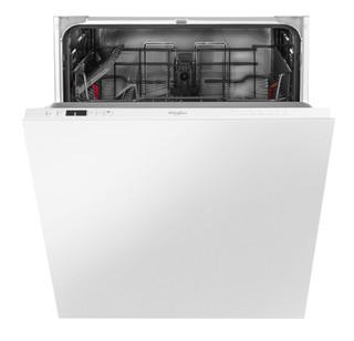 Integreret Whirlpool-opvaskemaskine: hvid farve, fuld størrelse - WSIC 3B16