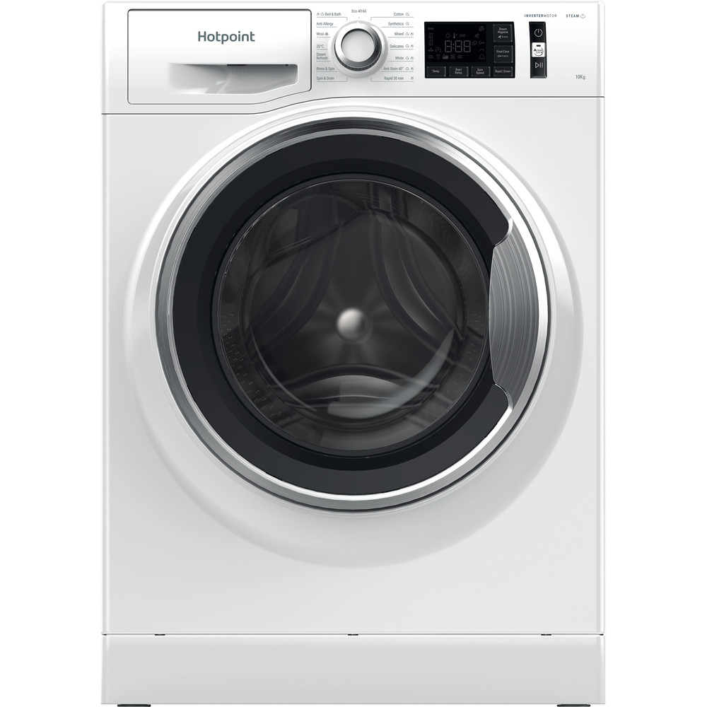 Hotpoint Washing machine Free-standing NM11 1064 WC A UK N White Front loader A+++ Frontal