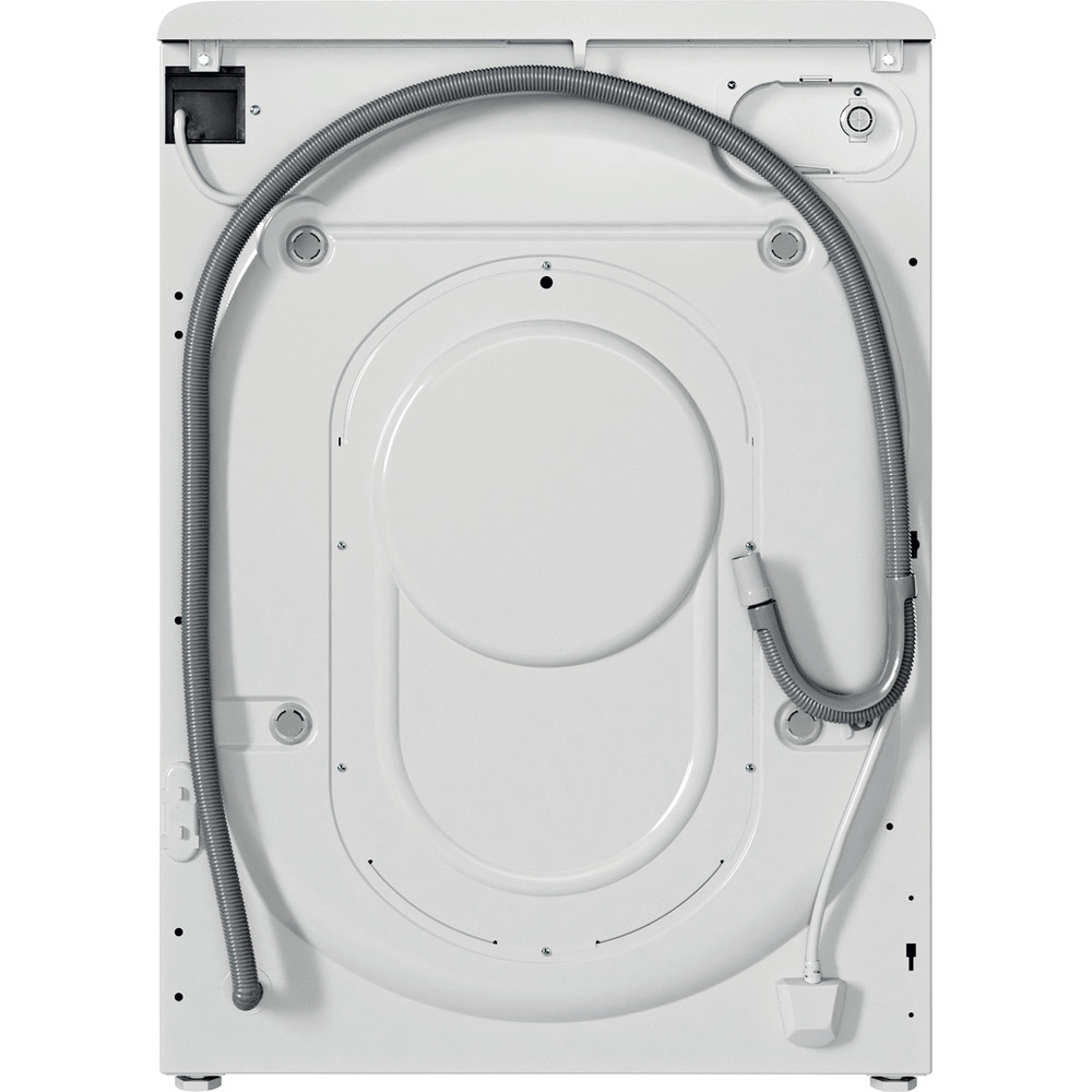 Indesit Lavasciugabiancheria A libera installazione BDE 761483X WK IT N Bianco Carica frontale Back / Lateral