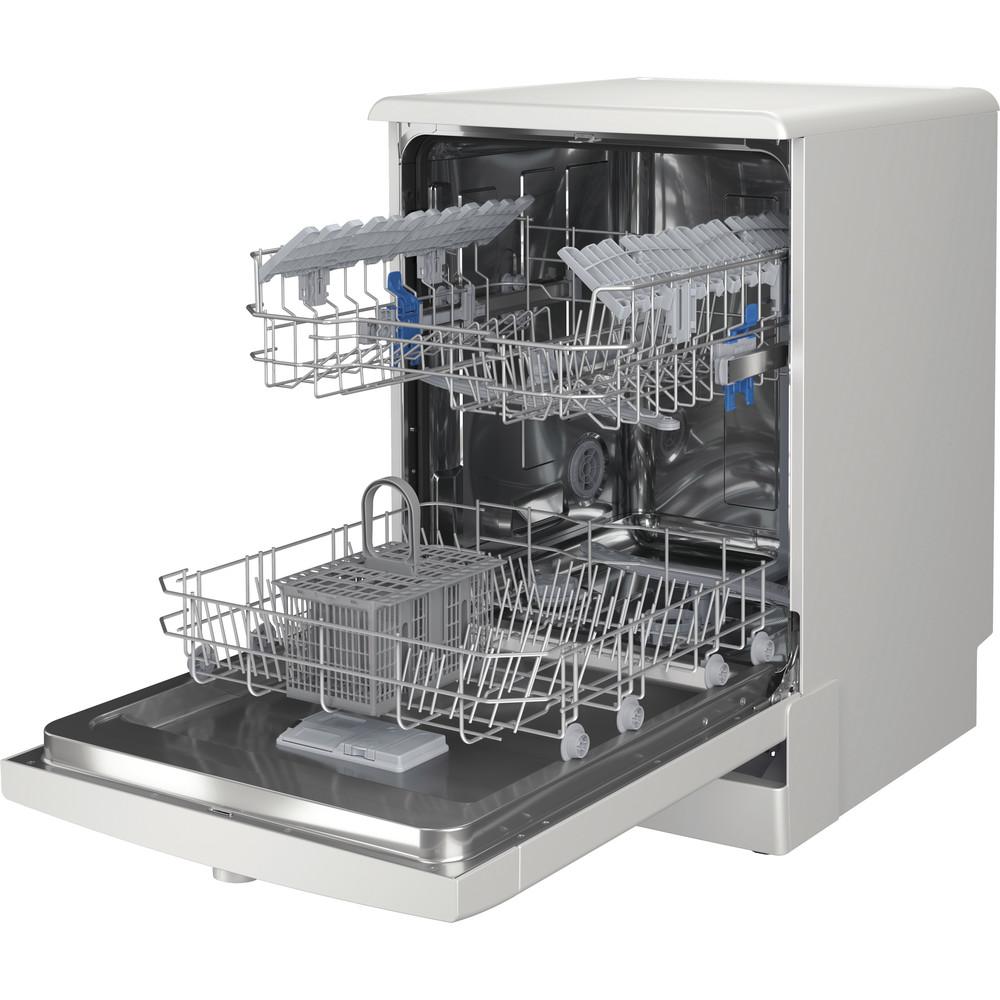 Indesit Lave-vaisselle Pose-libre DFE 1B19 14 Pose-libre F Perspective open