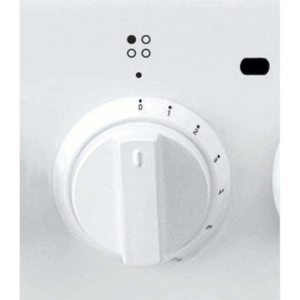 Indesit Плита IS5M5CCW/RU Белый Комбинированная Control_Panel