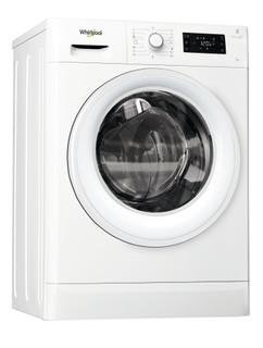 Vapaasti sijoitettava edestä täytettävä Whirlpool pyykinpesukone: 7 kg - FWSG71283W EU