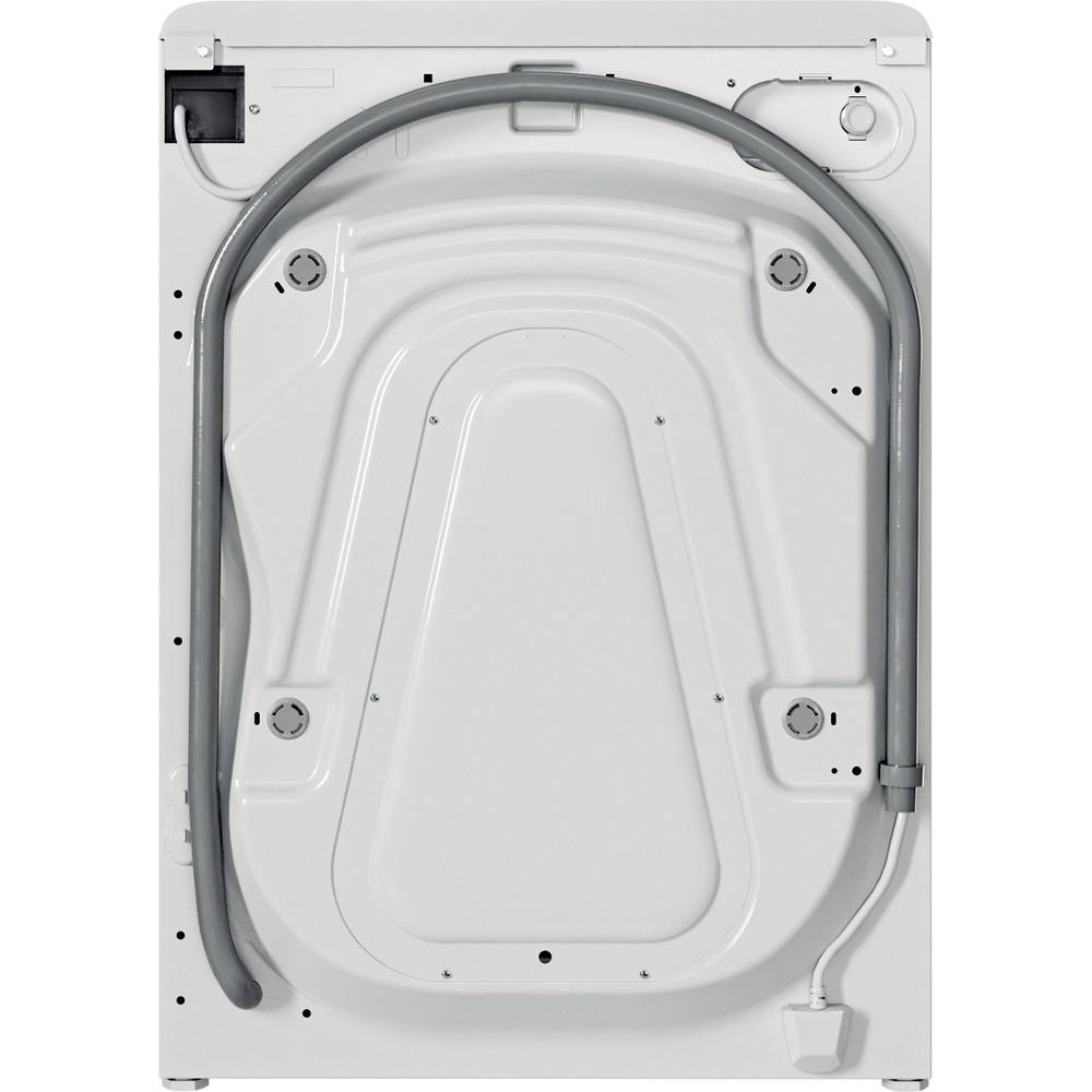 Indesit Πλυντήριο ρούχων Ελεύθερο BWE 71283X WS EE N Λευκό Front loader D Back / Lateral