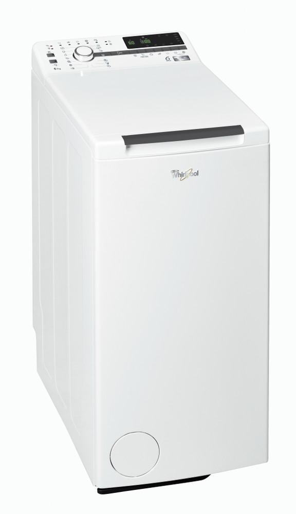 Whirlpool Vaskemaskine Fritstående TDLR 60230 Hvid Topbetjent A+++ Perspective