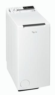 Päältä täytettävä vapaasti sijoitettava Whirlpool pyykinpesukone: 6 kg - TDLR 60230