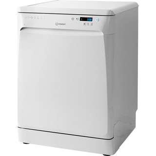 Lave-vaisselle Indesit : Standard 60 cm, Couleur blanche