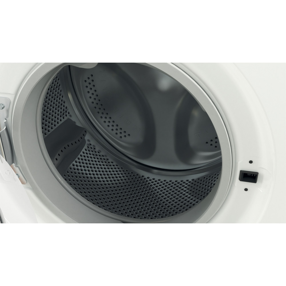 Indesit Lavadora secadora Libre instalación EWDE 751251 W SPT N Blanco Cargador frontal Drum