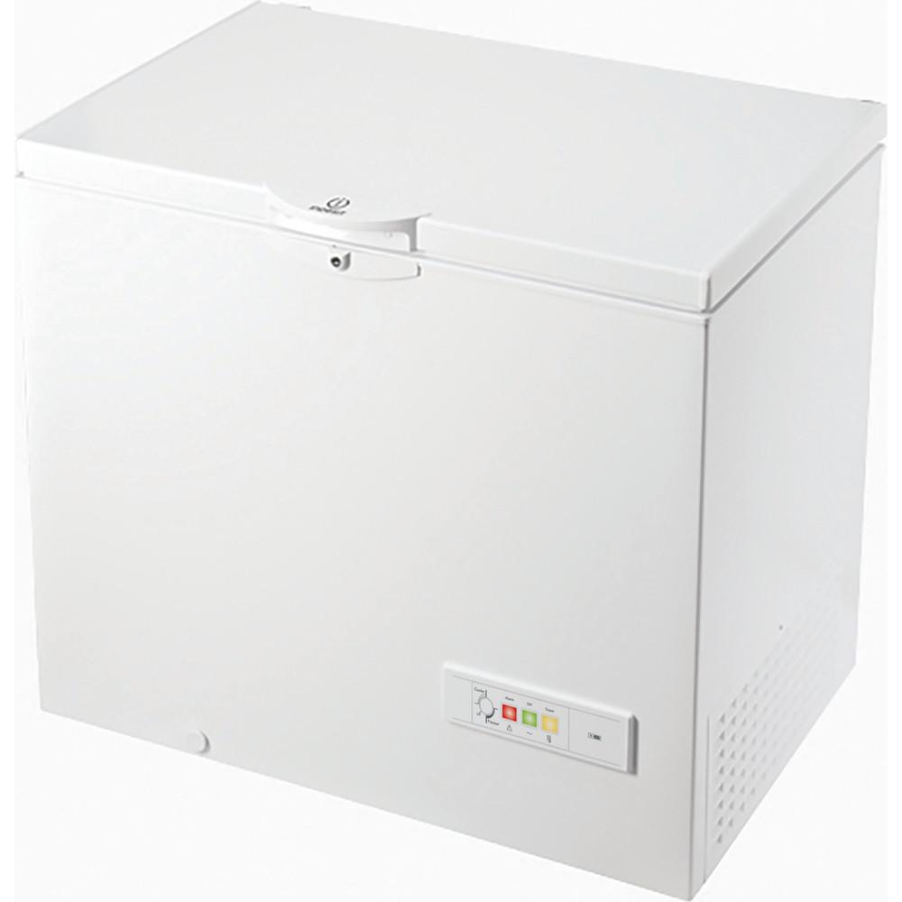 Indesit Congelador Livre Instalação OS 1A 250 2 Branco Perspective