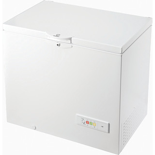 Indesit Freezer Free-standing OS 1A 250 H2 1 White Perspective