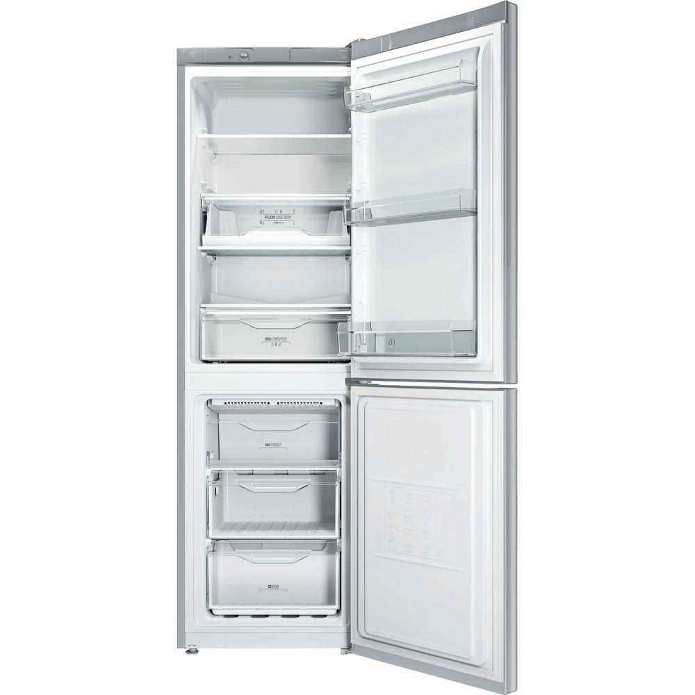 Indesit Холодильник с морозильной камерой Отдельно стоящий LI8 FF2 S Серебристый 2 doors Frontal open