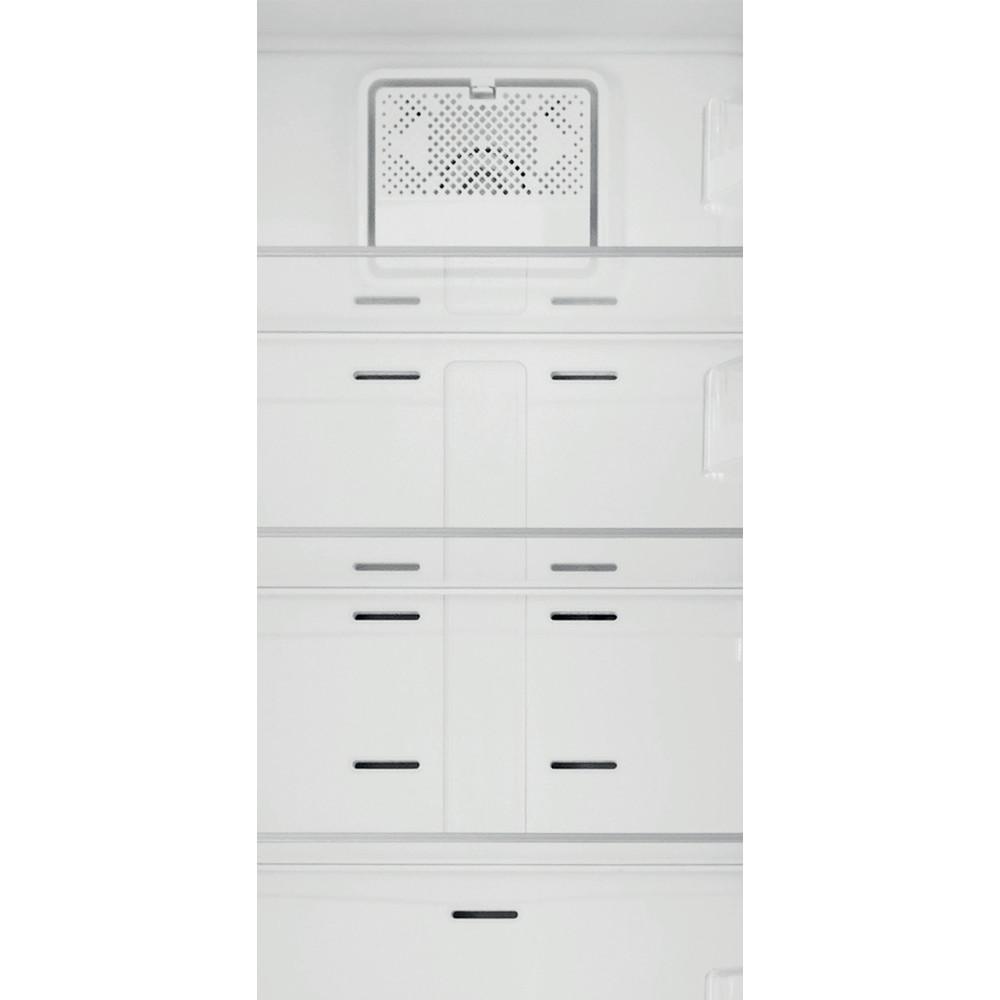 Indesit Køleskab/fryser kombination Fritstående XIT8 T2E X Optic Inox 2 doors Filter
