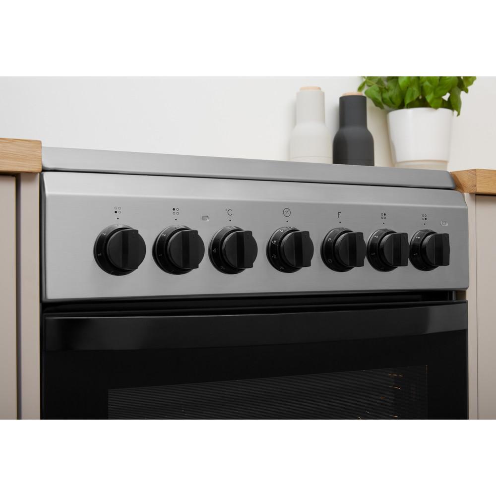 Indesit Плита IS5V4PHX/RU Inox Electrical Lifestyle control panel