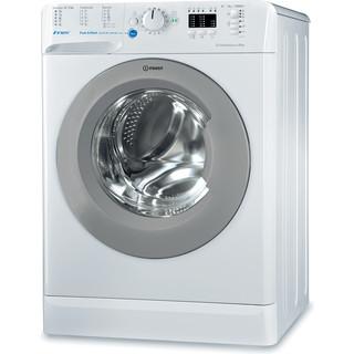 Indesit Pračka Volně stojící BWSA 61053 WSG EU Bílá Front loader A+++ Perspective