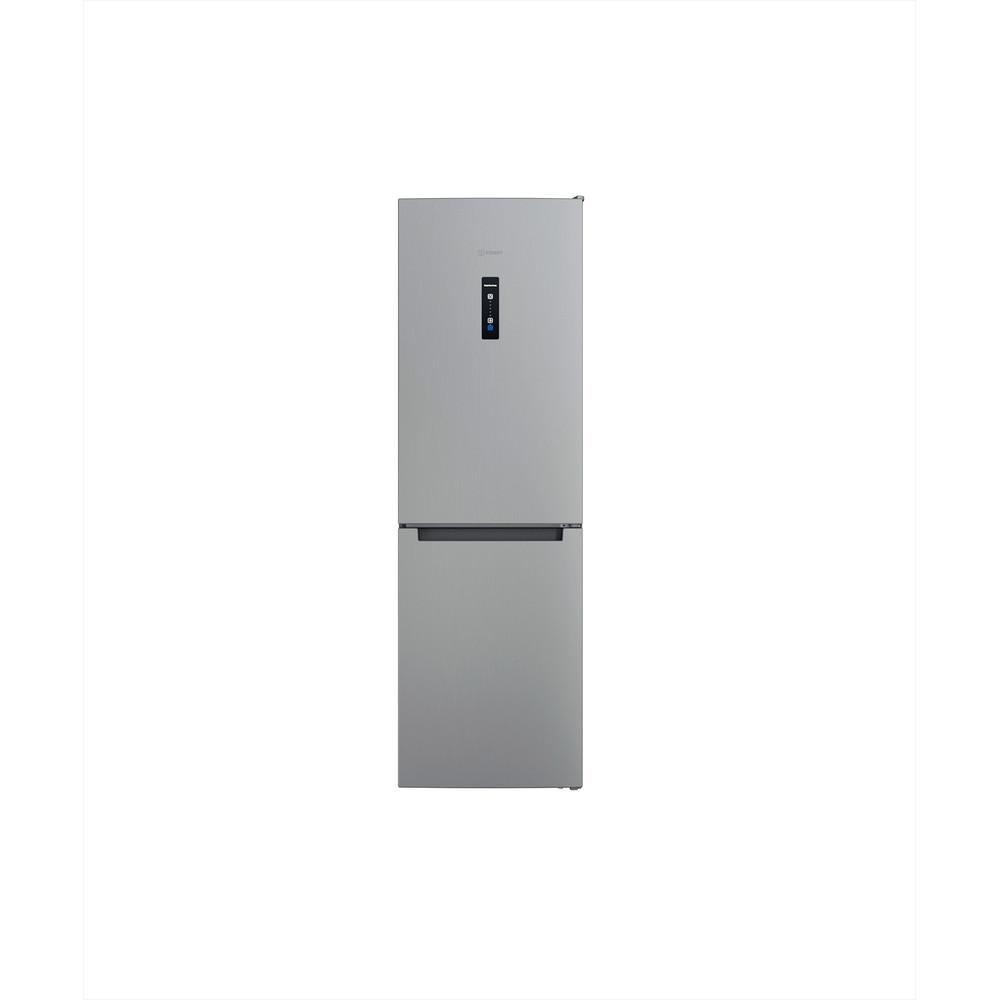 Indesit Combinazione Frigorifero/Congelatore A libera installazione INFC8 TO32X Inox 2 porte Frontal