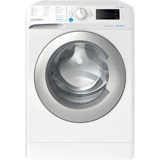 Máquina de lavar roupa de carga frontal livre instalação Indesit: 8 kg