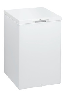 Whirlpool freestanding chest freezer: white color - CF 19 T
