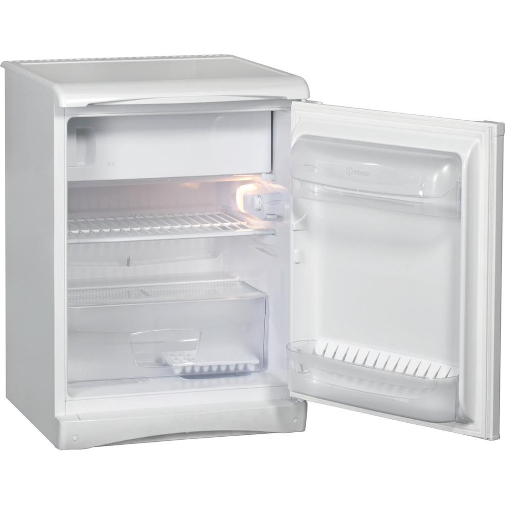 Indesit Холодильник Отдельностоящий TT85.001 Белый Perspective open