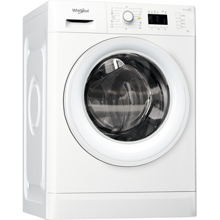 Whirlpool frontmatad tvättmaskin: 7 kg - FWL71452W EU