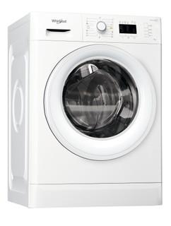 Vapaasti sijoitettava edestä täytettävä Whirlpool pyykinpesukone: 7 kg - FWL71452W EU