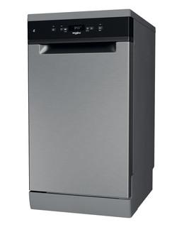 Whirlpool mašina za pranje sudova: inox boja, uska - WSFC 3M17 X