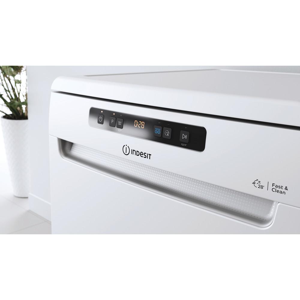 Indesit Myčka nádobí Volně stojící DFO 3T133 A F Volně stojící D Lifestyle control panel