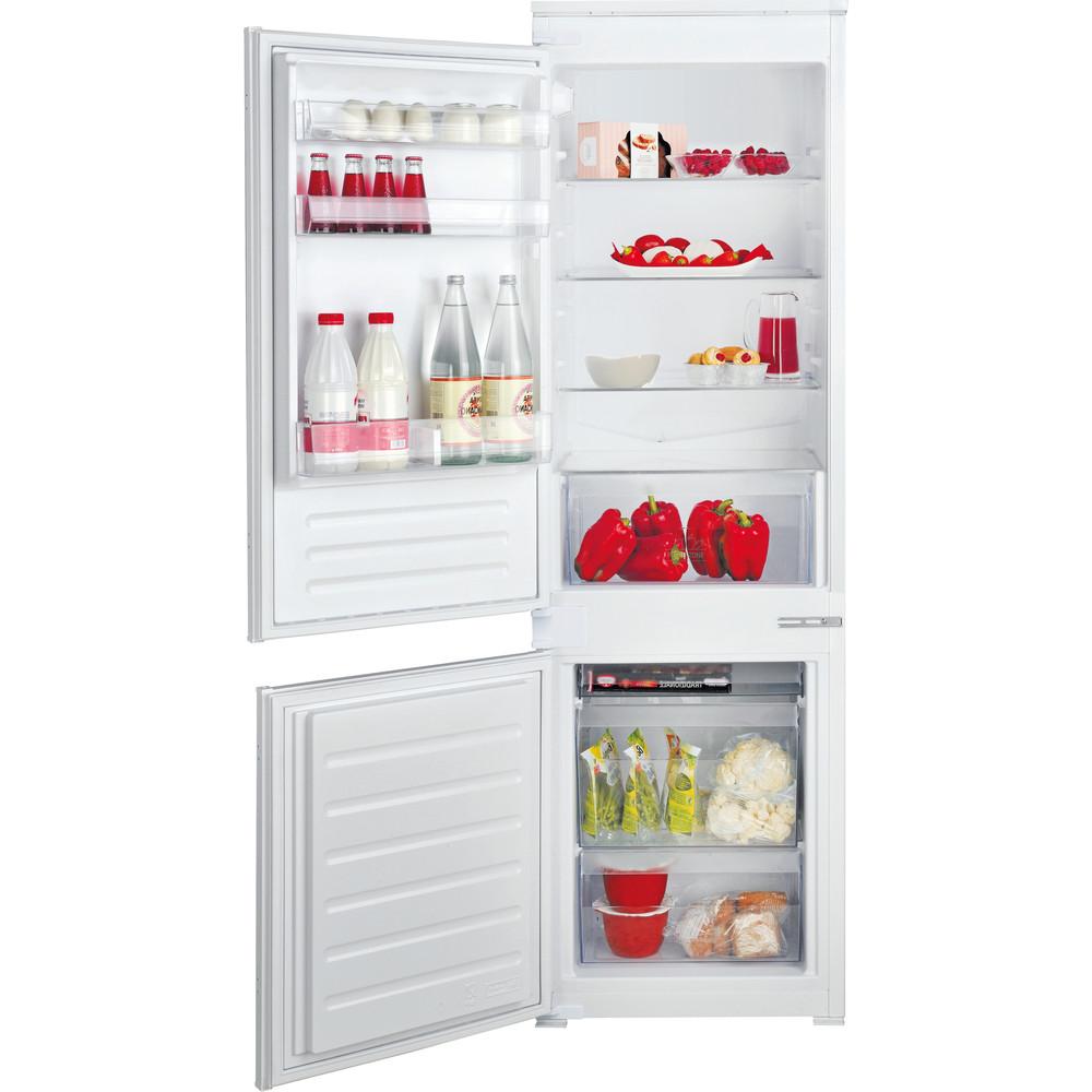 Hotpoint_Ariston Combinazione Frigorifero/Congelatore Da incasso BCB 7030 S1 Bianco 2 porte Frontal open