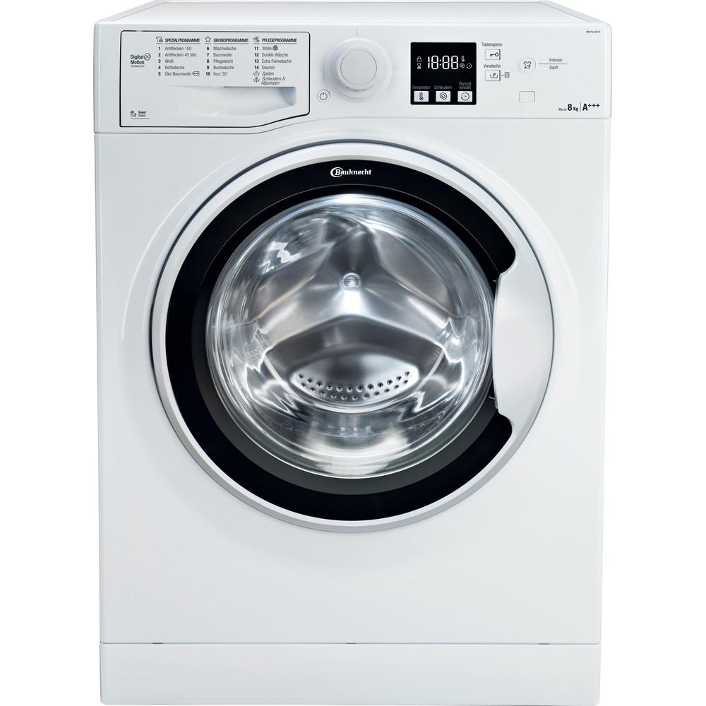 Bauknecht Waschmaschine Standgerät WM Pure 8F16 Weiss Frontlader A+++ Frontal