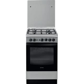 Indesit Fogão IS5G1PMX/E Inox Gás Frontal