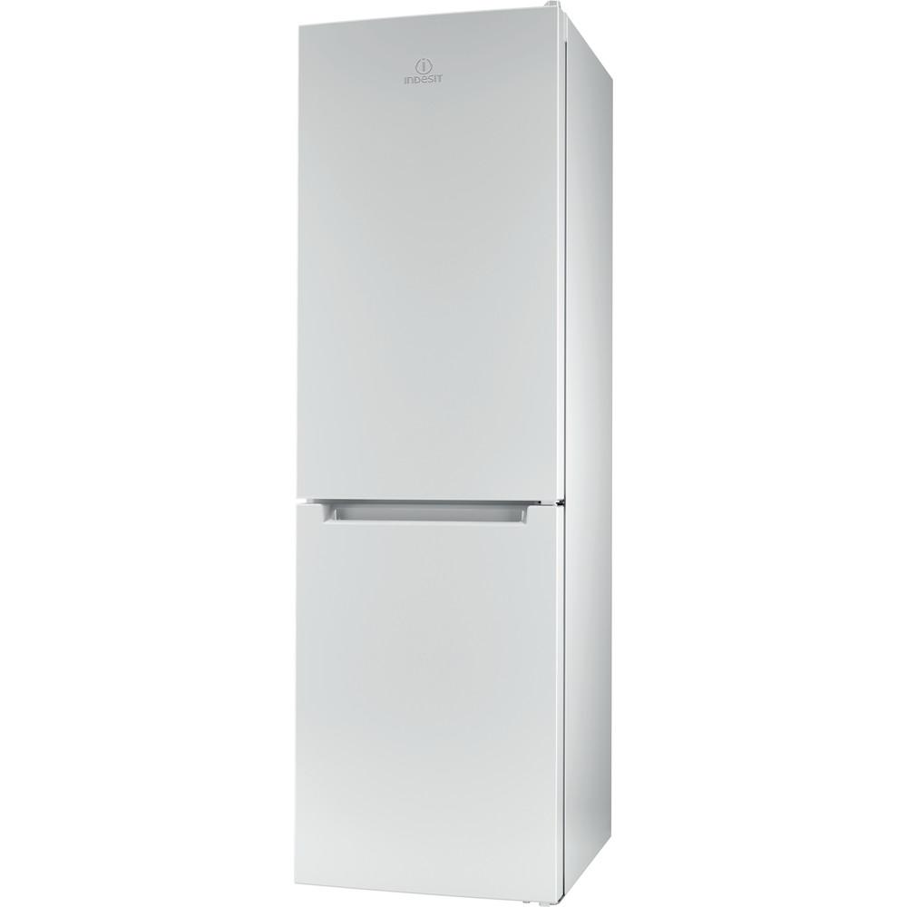 Indesit Køleskab/fryser kombination Fritstående XIT8 T1E W Hvid 2 doors Perspective