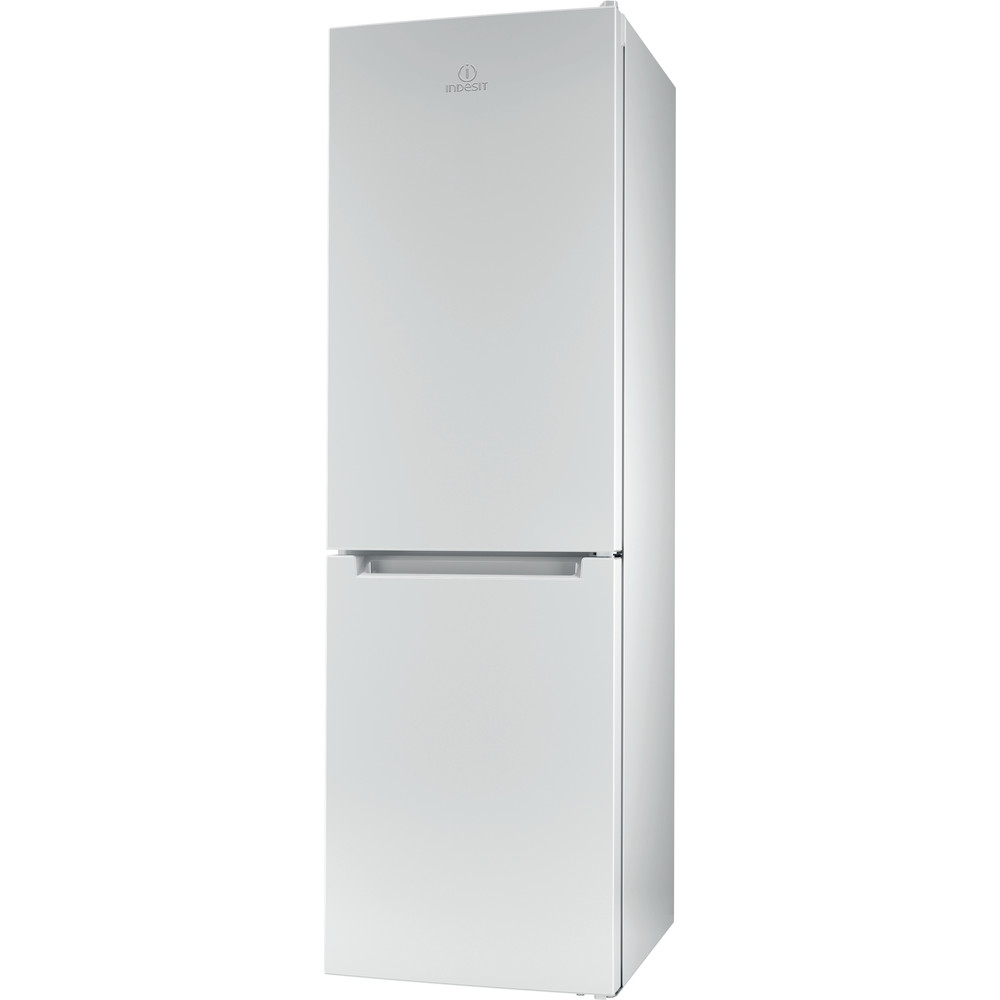 Indesit Kombinerat kylskåp/frys Fristående XIT8 T1E W White 2 doors Perspective