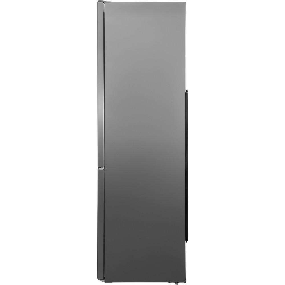 Indesit Холодильник с морозильной камерой Отдельно стоящий LI9 S1Q X Оптик Inox 2 doors Back / Lateral