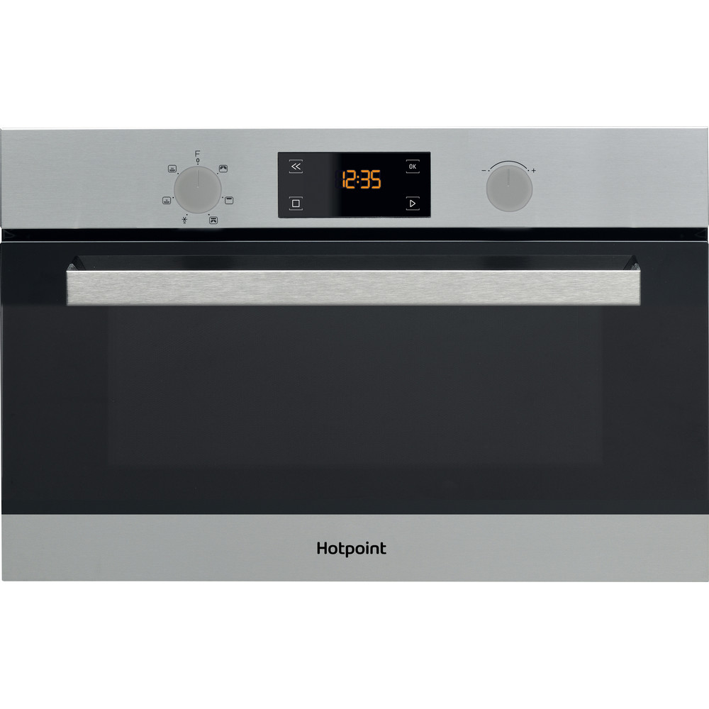 Hotpoint Microwave Built-in MD 344 IX H Stainless steel Electronic 31 MW+Grill function 1000 Frontal