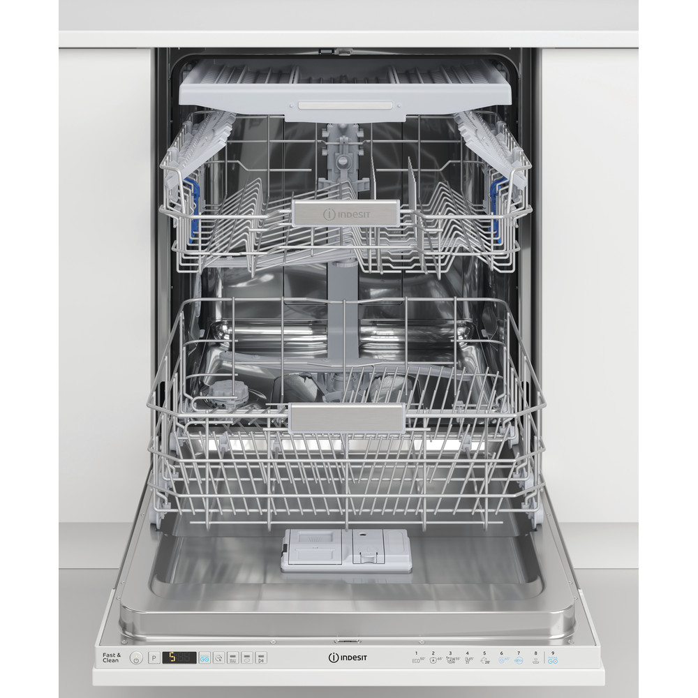 Indesit Dishwasher Built-in DIO 3T131 FE UK Full-integrated D Lifestyle frontal open