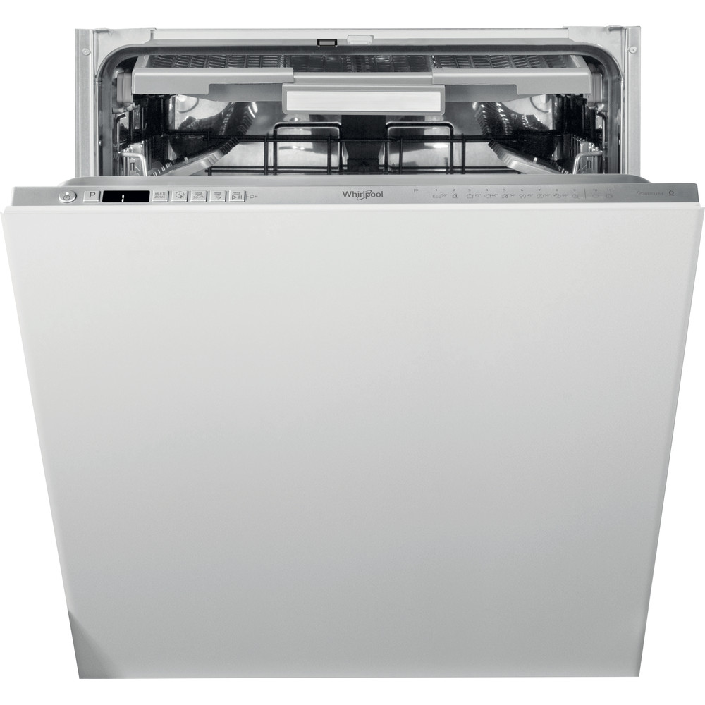 Whirlpool SupremeClean WIO 3O33 PLE S UK Built-In Dishwasher 14 Place