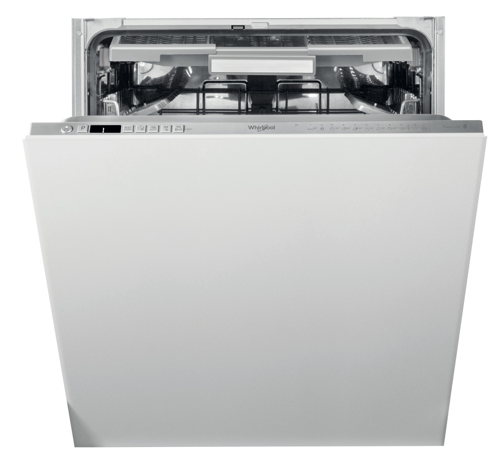 Whirlpool Dishwasher Built-in WIO 3O33 PLE S UK Full-integrated D Frontal