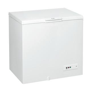 مجمد أفقي من ويرلبول : لون أبيض - CF 420 T
