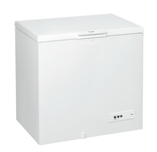 Whirlpool freestanding chest freezer: white color - CF 420 T