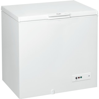 Whirlpool Freezer Free-standing WHM3111.1 White Perspective