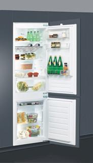 Kalusteisiin sijoitettava Whirlpool jääkaappipakastin - ART 66122