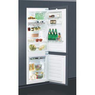 Whirlpool Kombinētais ledusskapis/saldētava Iebūvējams ART 66122 Balta 2 doors Perspective open