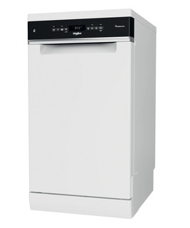 Whirlpool mosogatógép: fehér szín, keskeny - WSFO 3O34 PF