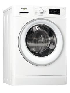 Whirlpool Waschtrockner: 8 kg - FWDG86148W DE
