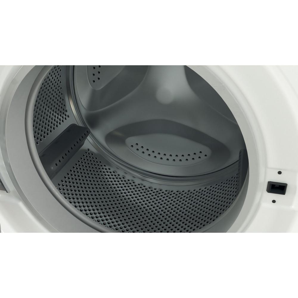 Indesit Waschmaschine Freistehend BWE 71682XE WS DE N Weiß Frontlader E Drum