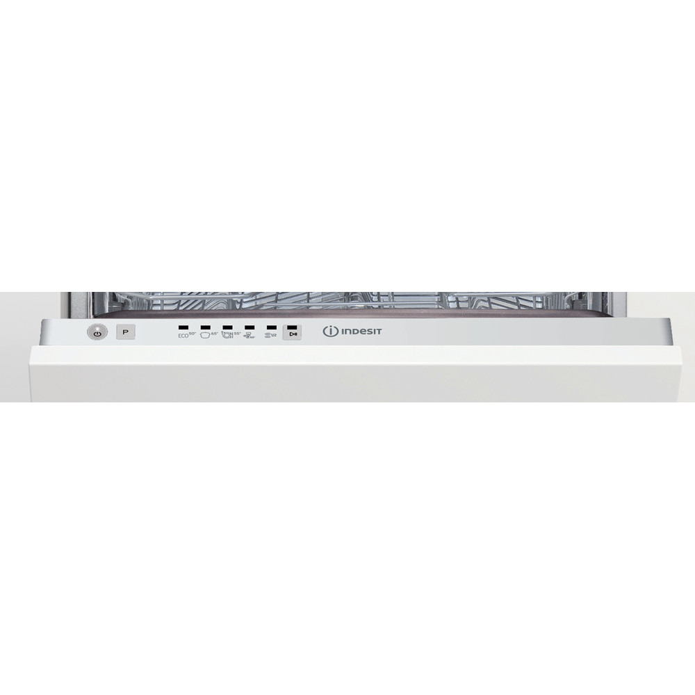 Indesit Lavastoviglie Da incasso DSIE 2B10 Totalmente integrato F Control panel