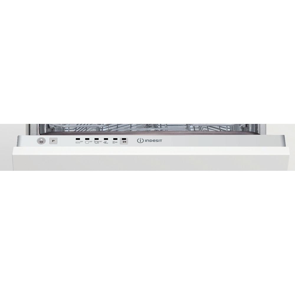 Indesit Zmywarka Do zabudowy DSIE 2B10 Zintegrowane F Control panel