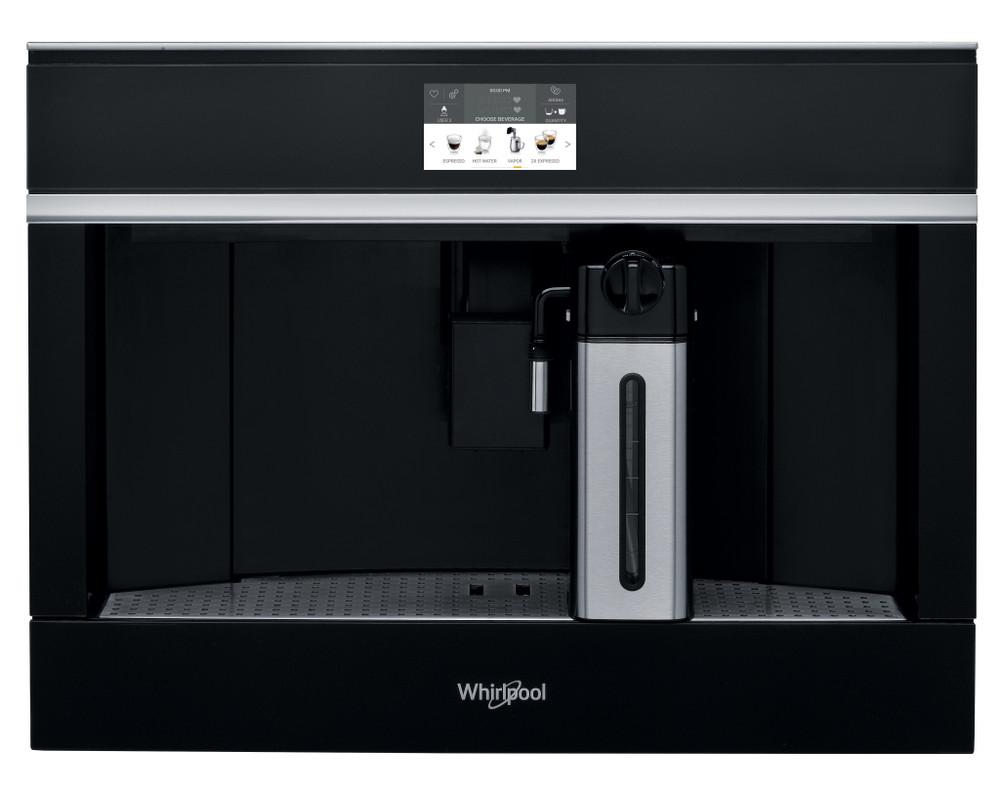 Whirlpool Aparat de cafea încorporabil W11 CM145 Gri închis Fully automatic Frontal