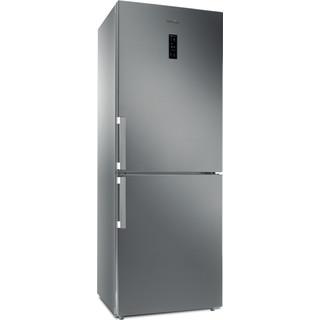 """Whirlpool Šaldytuvo / šaldiklio kombinacija Laisvai pastatomas WB70E 972 X """"Optic Inox"""" 2 doors Perspective"""