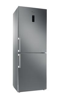Whirlpool szabadonálló, alulfagyasztós hűtő-fagyasztó: fagymentes - WB70E 972 X